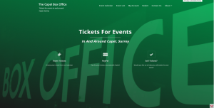 The Capel Box Office - Tickets for events in and around Capel